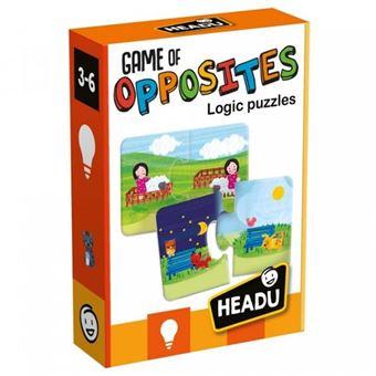 Puzzle Game of Opposites - Headu