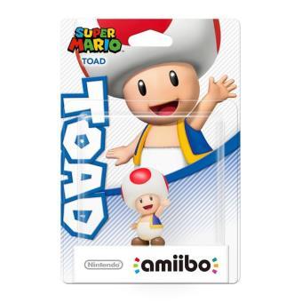 Amiibo Super Mario - Figura Toad
