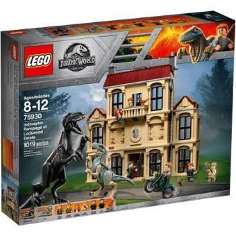 LEGO Jurassic World 75930 Indoraptor Furioso em Lockwood