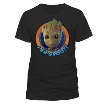 T-Shirt Guardians of The Galaxy Vol 2: Groot Circle - Tamanho L