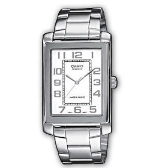 ad44d5ff584 Casio Relógio Collection MTP-1234D-7BEF (Prateado Branco) - Relógio ...