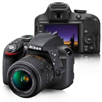 Nikon D3300 + AF-S DX 18-55mm f/3.5-5.6 VR II