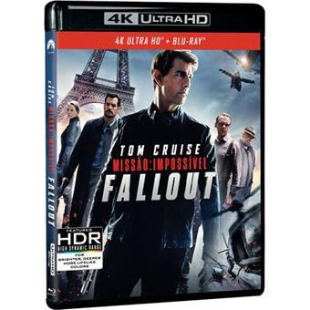 Missão Impossível: Fallout - 4K Ultra HD + Blu-ray