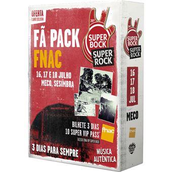 Fã Pack FNAC Super Bock Super Rock 2020 T-Shirt S | Preço: 95€ Pack + 7€ Custos de Operação