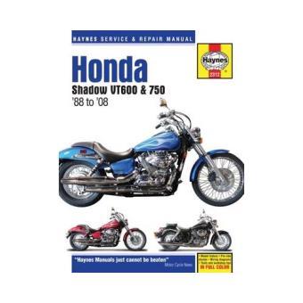 Honda shadow vt600 & 750 motorcycle