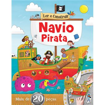 Ler e Construir: Navio Pirata