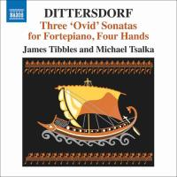 Dittersdorf: Three 'Ovid' Sonatas for Fortepiano, Four Hands - CD