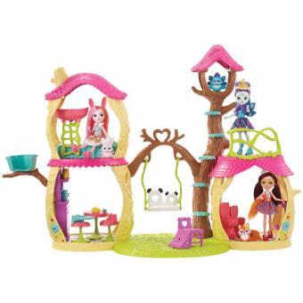 Casinha na Árvore Enchantimals - Mattel