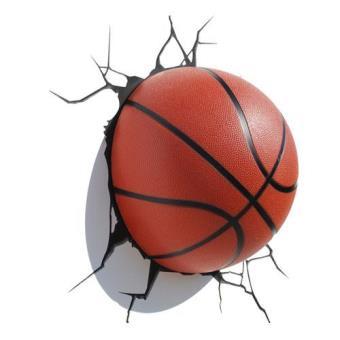 bola de basquete 3d luz decorativa outros presentes compra na