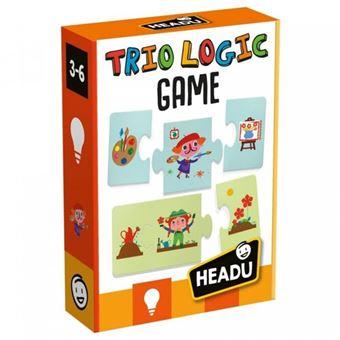 Puzzle Trio Logic Game - Headu