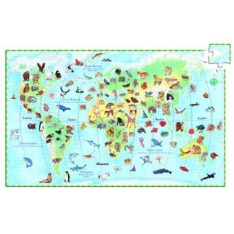 Puzzle Descobrir os Animais do Mundo (100 Peças)