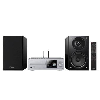Pioneer X-HM86D Home audio micro system 130W Preto, Prateado