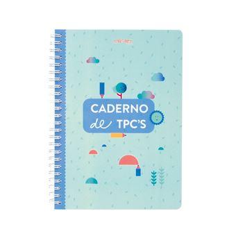 Caderno de TPC's em Espiral Edicare - Verde