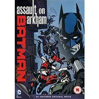 Batman Assault On Arkham - DVD Importação