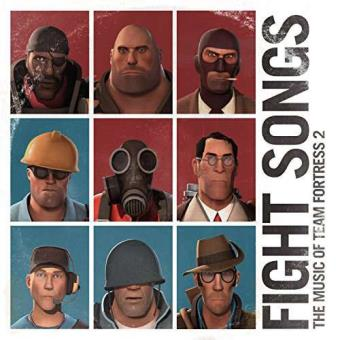Fight Songs: The Music Of Team Fortress 2 (Red And Blue Vinyl) (2LP)