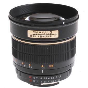 Samyang Objetiva 85mm f/1.4 (Canon)