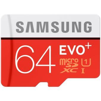 Cartão MicroSDXC Samsung EVO+ - 64GB