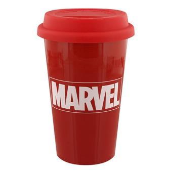 Copo de Viagem Marvel Logo