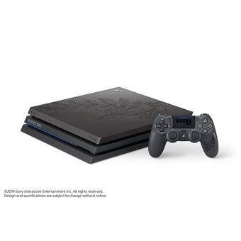 PS4 PRO + 1 comando sem fios Dualshock- Edição Limitada The Last of Us Part II