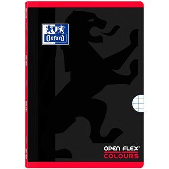 Caderno Quadriculado Oxford Open Flex Colours Vermelho A4