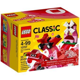 LEGO Classic 10707 Caixa de Criatividade Vermelha
