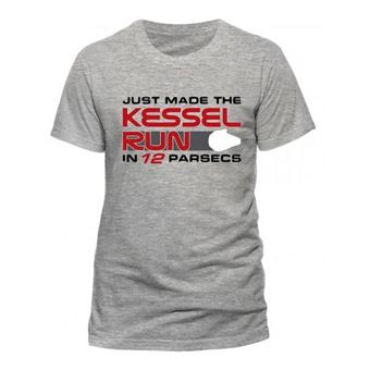 T-Shirt Han Solo Movie: Kessel Run - Tamanho M