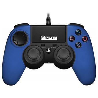 Comando com Fio para PS4 - Azul