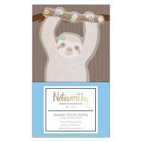 Notas Adesivas Recortadas - It's a Sloth's Life