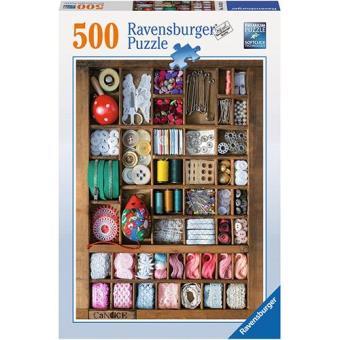 Puzzle Sewing Box (500 peças)