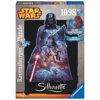 Puzzle Star Wars Darth Vader Silhueta (1098 peças)