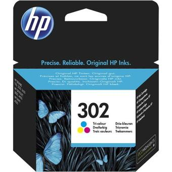 HP Tinteiro Tricolor Nº302 (F6U65AE)