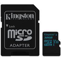 Cartão Micro SD Kingston Canvas Go! MSDHC - 32GB - Classe 10