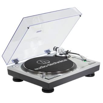 Gira-Discos AT-LP120USBHC Cinza Audio-technica