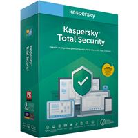 Antivírus Kaspersky Total Security 2020 - 3 Dispositivos - 1 Ano