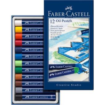 Pastéis a Óleo Faber-Castell Creative Studio - 12 Unidades