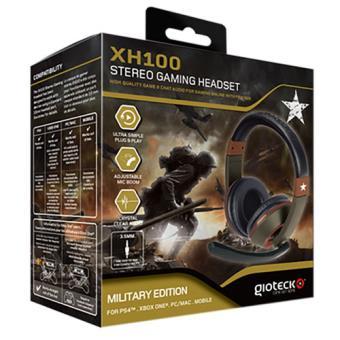 Headset com fios Gioteck XH 100 Military