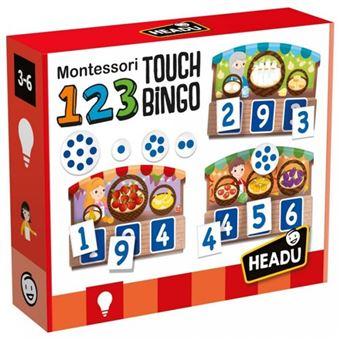 123 Montessori Touch Bingo - Headu