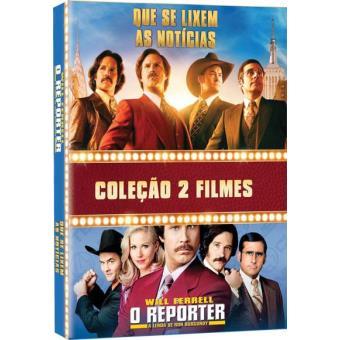 Coleção 2 Filmes: Que se Lixem as Notícias + O Repórter