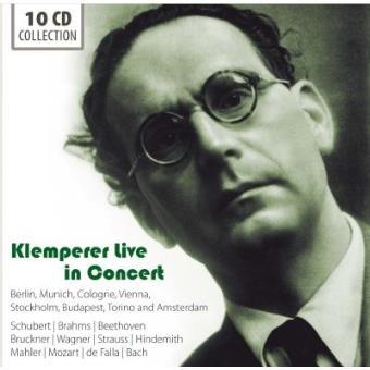 Otto Klemperer Live in Concert (10CD)