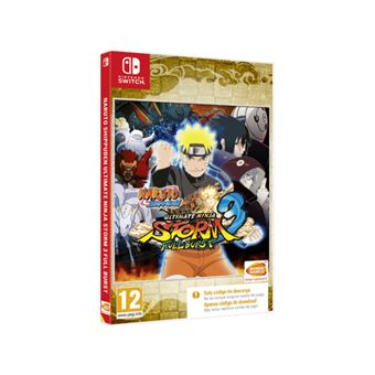 Naruto Ultimate Ninja Storm 3 - Nintendo Switch