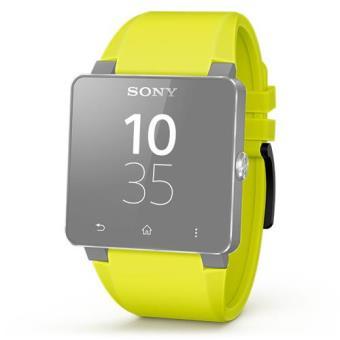 Sony Correia de Pulso SE20 para SmartWatch 2 (Amarelo)