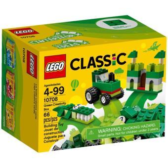 LEGO Classic 10708 Caixa de Criatividade Verde