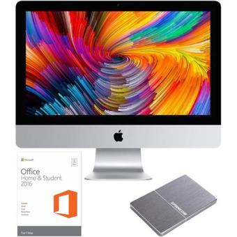 Apple iMac 4K 21,5'' i5-3,0GHz + Disco Externo + Office Casa e Estudante