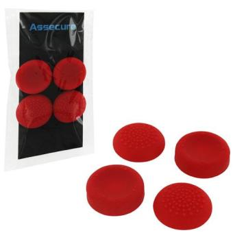 Assecure Thumb Grips Red PS4