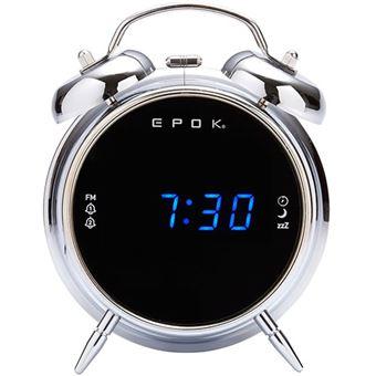 Rádio Despertador BigBen RR90EPOKS - Prateado