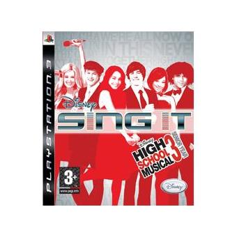 Disney Sing It! High School Musical 3 Senior Year PS3