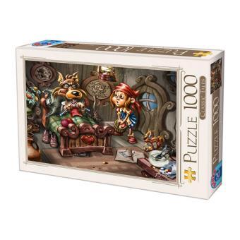Puzzle Classic Tales 1000 Peças - D-Toys (Envio Aleatório)
