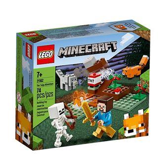 LEGO Minecraft 21162 A Aventura Taiga