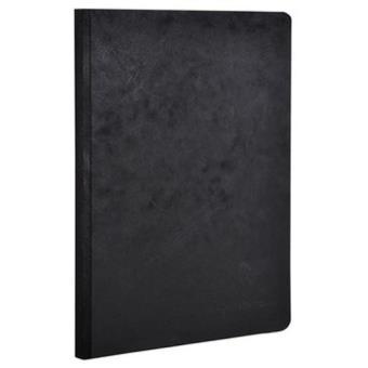 Caderno Liso Clairefontaine Age Bag A5 Preto