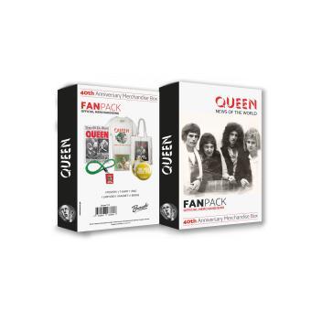 Fã Pack Queen Merchandising Box